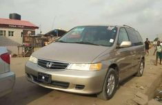 Gold 2003 Honda Odyssey automatic for sale at price ₦1,500,000 in Lagos