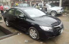 Well maintained black 2008 Honda Civic sedan automatic for sale