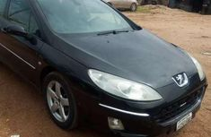 Sell used black 2004 Peugeot 407 sedan automatic at cheap price