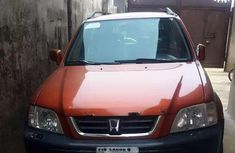 Sharp orange 2001 Honda CR-V suv automatic for sale