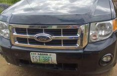 Black 2009 Ford Escape car suv automatic at attractive price