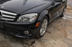 Selling black 2008 Mercedes-Benz C350 at cheap price