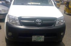 Certified white 2012 Toyota Hilux automatic in good condition