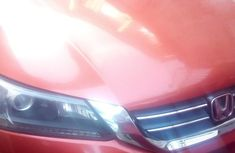 Sell orange 2013 Honda Accord automatic in Lagos at cheap price