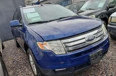 Used blue 2008 Ford Edge automatic for sale in Lagos