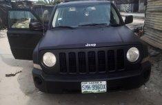 Neatly Nigerian Used Matt Black 2007 Jeep Patriot for Sale