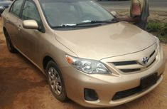 Clean Toyota Corolla 2008 Gold Colour for sale