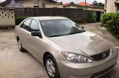 Selling beige 2005 Toyota Camry sedan in good condition