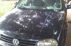 Best priced black 2005 Volkswagen Golf sedan at mileage 150,000