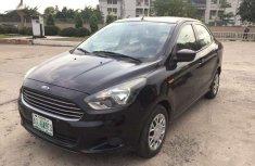 Black 2015 Ford Figo sedan automatic for sale in Lagos