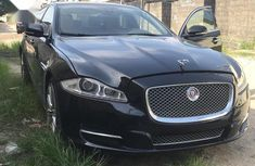 Selling black 2014 Jaguar XJ at cheap price