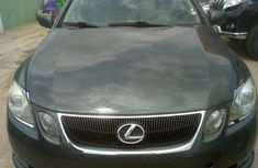 Sell cheap green 2007 Lexus GS automatic in Lagos