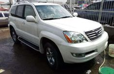 White 2008 Lexus GX suv automatic at mileage 69,000 for sale