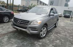 Sharp used grey 2015 Mercedes-Benz ML suv car at attractive price