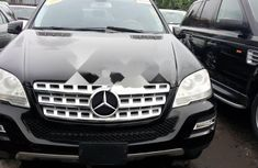 Sell well kept black 2011 Mercedes-Benz ML350 automatic at price ₦6,500,000