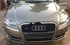 Used gold 2006 Audi A4 automatic for sale in Lagos