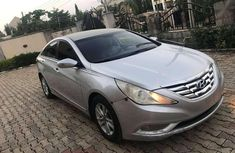 Grey 2008 Hyundai Sonata sedan automatic for sale in Abuja