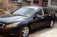 Black 2008 Honda Accord car sedan automatic at attractive price