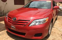 Sell red 2010 Toyota Camry at mileage 82,395 at cheap price