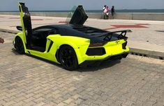 Lamborghini Murcielago 2013 Green