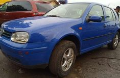 Best priced used blue 2001 Volkswagen Golf at mileage 96,523