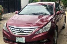 Red 2012 Hyundai Sonata at mileage 90,000 for sale in Ikeja