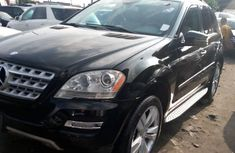 Sell black 2011 Mercedes-Benz ML350 in Lagos at cheap price