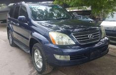 Sell well kept blue 2008 Lexus GX suv automatic in Lagos