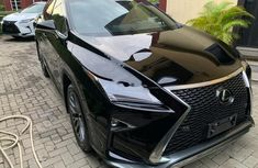 Clean black 2018 Lexus RX automatic for sale at price ₦26,000,000
