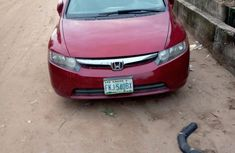 Sell red 2008 Honda Civic automatic at mileage 6,000 in Lagos
