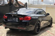 Sell used black 2015 BMW 450 automatic at price ₦7,950,000