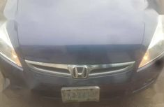 Sell well kept blue 2007 Honda Accord automatic at price ₦900,000