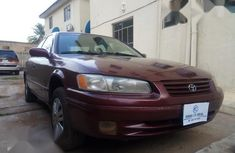 Red 1998 Toyota Camry sedan automatic for sale at price ₦590,000