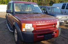 Sell red 2006 Land Rover LR3 suv automatic at cheap price
