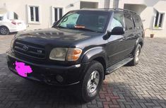 Need to sell cheap used black 2004 Toyota Sequoia automatic in Lagos