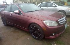 Best priced used red 2004 Mercedes-Benz 300 automatic in Lagos