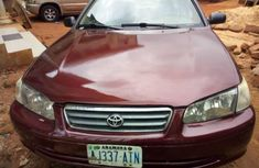 Sell used red 2002 Toyota Camry sedan automatic in Onitsha