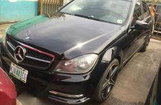 Black 2011 Mercedes-Benz C350 car automatic at attractive price in Ikeja