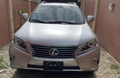 Sell well kept grey/silver 2013 Lexus RX automatic in Lagos