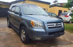 Blue 2007 Ford Pilot car automatic at attractive price in Lagos