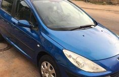 Need to sell cheap used blue 2008 Peugeot 307 at mileage 128,935