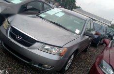 Sell grey 2006 Hyundai Sonata automatic at mileage 40,000