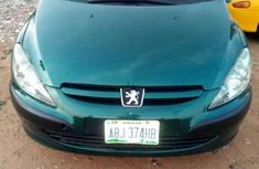 Sell green 2002 Peugeot 307 automatic in Kaduna at cheap price