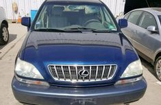 Best priced used blue 2002 Lexus RX at mileage 0