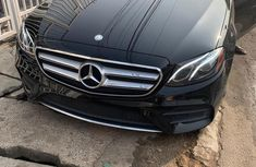 Best priced black 2017 Mercedes-Benz E300 at mileage 15,886 in Ikeja