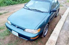 Selling blue 1999 Toyota Corolla automatic at price ₦470,000 in Ibadan
