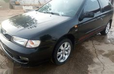 Black 1999 Nissan Almera at mileage 123 for sale