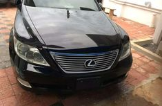 Well maintained black 2009 Lexus LS automatic for sale at price ₦5,000,000