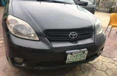 Sell well kept black 2005 Hyundai Matrix automatic in Lagos