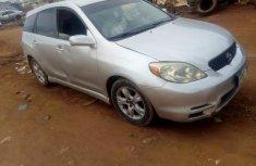 Selling grey 2001 Toyota Matrix sedan automatic in Abuja
